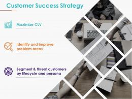Customer Success Strategy Presentation Images
