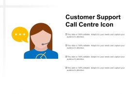 Customer Support Call Centre Icon