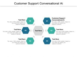 Customer Support Conversational Ai Ppt Powerpoint Presentation Summary Layouts Cpb