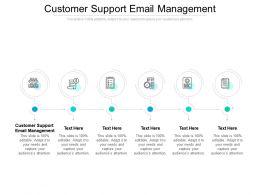 Customer Support Email Management Ppt Powerpoint Presentation Portfolio Slide Portrait Cpb