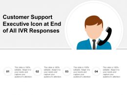 Customer Support Executive Icon At End Of All Ivr Responses