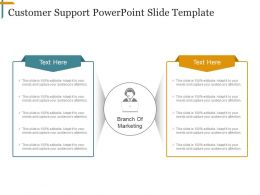Customer Support Powerpoint Slide Template