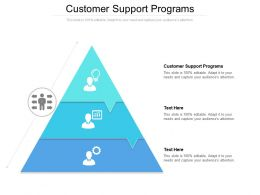 Customer Support Programs Ppt Powerpoint Presentation Infographics Introduction Cpb