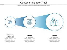 Customer Support Tool Ppt Powerpoint Presentation Model Backgrounds Cpb