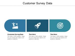 Customer Survey Data Ppt Powerpoint Presentation Gallery Background Image Cpb