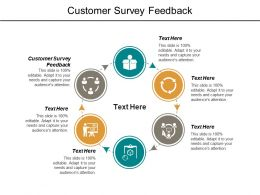Customer Survey Feedback Ppt Powerpoint Presentation File Designs Cpb