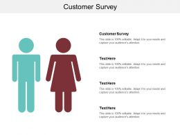 Customer Survey Ppt Powerpoint Presentation Gallery Graphics Download Cpb