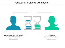 Customer Surveys Distribution Ppt Powerpoint Presentation Show Portfolio Cpb