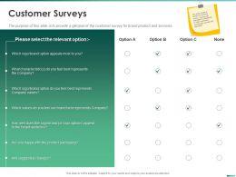 Customer Surveys Feel Best Represents Ppt Powerpoint Presentation Gallery Brochure