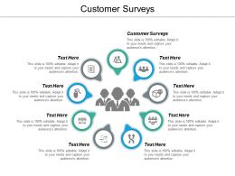 Customer Surveys Ppt Powerpoint Presentation Gallery Mockup Cpb
