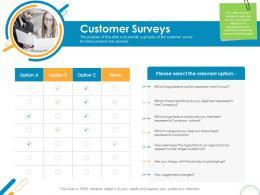 Customer Surveys Rebrand Ppt Powerpoint Presentation Gallery Information