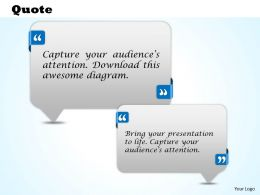 Customer Testimonials Quotes Powerpoint Slides and Diagrams 2