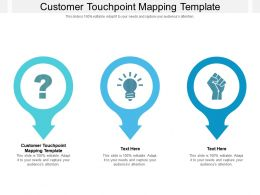 Customer Touchpoint Mapping Template Ppt Powerpoint Presentation Pictures Example File Cpb