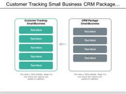 Customer Tracking Small Business Crm Package Small Business Cpb
