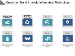 Customer Trend Analysis Information Technology Management Vendor Risk Score Cpb