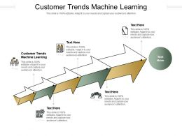 Customer Trends Machine Learning Ppt Powerpoint Presentation Picture Cpb
