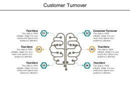 Customer Turnover Ppt Powerpoint Presentation File Example Cpb