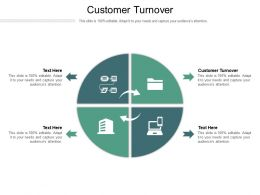 Customer Turnover Ppt Powerpoint Presentation File Visual Aids Cpb