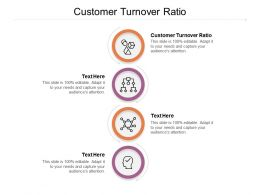Customer Turnover Ratio Ppt Powerpoint Presentation Infographic Template Templates Cpb