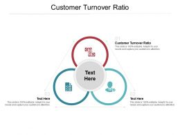 Customer Turnover Ratio Ppt Powerpoint Presentation Layouts Objects Cpb