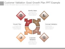 Customer Validation Good Growth Plan Ppt Example