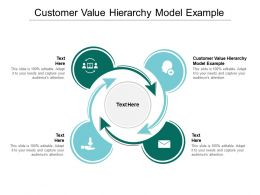 Customer Value Hierarchy Model Example Ppt Powerpoint Presentation Microsoft Cpb