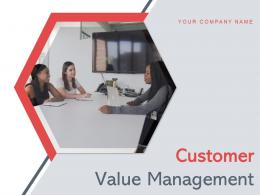 Customer Value Management Process Service Solutions Dollar Measure Analytics Performance Business