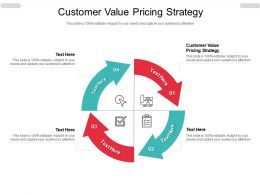 Customer Value Pricing Strategy Ppt Powerpoint Presentation Infographic Template Example Cpb