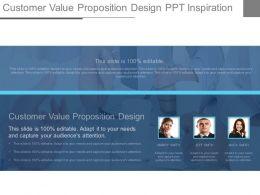 Customer Value Proposition Design Ppt Inspiration