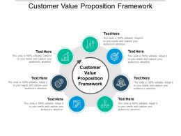 Customer Value Proposition Framework Ppt Powerpoint Presentation File Visuals Cpb
