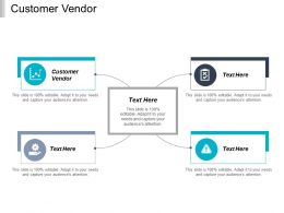Customer Vendor Ppt Powerpoint Presentation Gallery Background Images Cpb