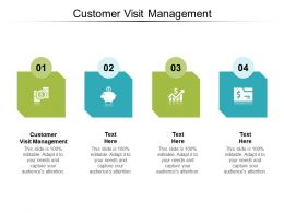 Customer Visit Management Ppt Powerpoint Presentation Styles Example Topics Cpb