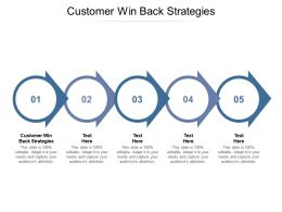 Customer Win Back Strategies Ppt Powerpoint Presentation Slides Guide Cpb
