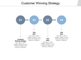 Customer Winning Strategy Ppt Powerpoint Presentation File Designs Download Cpb
