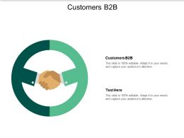 Customers B2B Ppt Powerpoint Presentation Slides File Formats Cpb