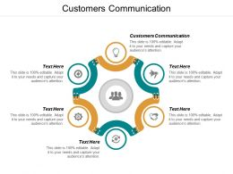 Customers Communication Ppt Powerpoint Presentation Ideas Format Cpb