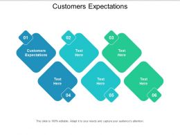 Customers Expectations Ppt Powerpoint Presentation Styles Summary Cpb