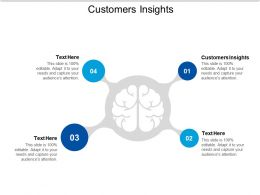 Customers Insights Ppt Powerpoint Presentation Slides Visuals Cpb