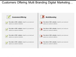 Customers Offering Multi Branding Digital Marketing Marketing Automation Cpb