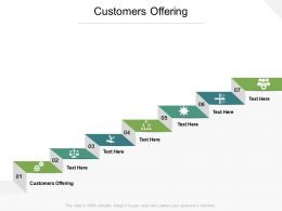 Customers Offering Ppt Powerpoint Presentation Layouts Vector Cpb