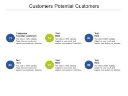 Customers Potential Customers Ppt Powerpoint Presentation Ideas Slide Cpb