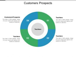 Customers Prospects Ppt Powerpoint Presentation Layouts Grid Cpb