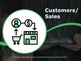 Customers Sales Ppt Examples
