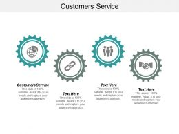 Customers Service Ppt Powerpoint Presentation File Sample Cpb