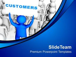 Customers Views For Business Development PowerPoint Templates PPT Themes And Graphics 0513