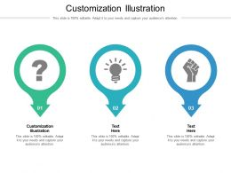 Customization Illustration Ppt Powerpoint Presentation Deck Cpb