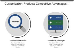 Customization Products Competitive Advantages Innovation Opportunities Development Cost Time