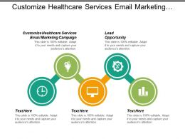 Customize Healthcare Services Email Marketing Campaign Lead Opportunity Cpb