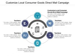 Customize Local Consumer Goods Direct Mail Campaign Ppt Powerpoint Presentation Graphics Cpb