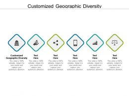 Customized Geographic Diversity Ppt Powerpoint Presentation Ideas Icon Cpb